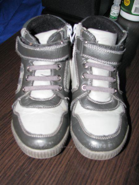 Кожаные демиботинки Lilin shoes