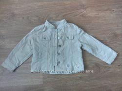 Моднявая коттоновая курточка на девочку 4-5 лет