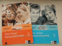 Робочі зошити німецької мови Das neue Deutschmobil 2, 3 Arbeitbuch A2, B1