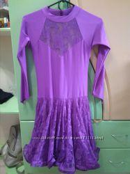 Платье для танцев на рост 140-145см