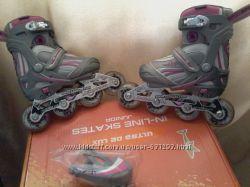 Роликовые коньки СК Ultra Deluxe Pink. р. 29-32