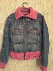 Джинсовая курточка Benetton, 8 лет, рост 130
