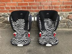 Автокресло Romer KidFix Smart Zebra