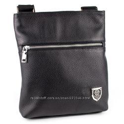 a136934c4742 Мужская кожаная сумка-планшет Crez-301 черный флотар, 710 грн ...