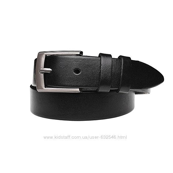 Ремень детский кожаный jk-3010 black 3 см