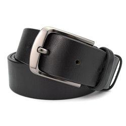 Ремень мужской кожаный KB-40 black 4 см