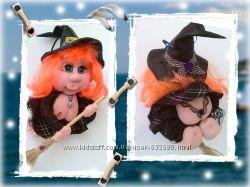 кукла на удачу ведьмочка