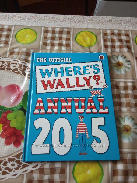 Книга на английском языке Where is WallyThe official Annual2015