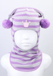 Яркие демисезонные шлемы Beezy для девчушек. 2020 г.