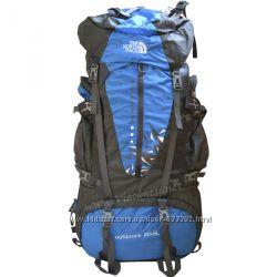 Туристический рюкзак с каркасом, стильный и яркий, 85л