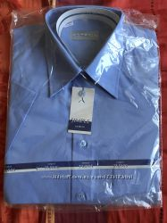 Фирменная мужская тениска , рубашка с коротким рукавом р 38-40 На рост 176-