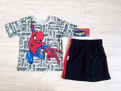Крутой костюм набор спайдер мен 2,3,4 года  USA Дисней Disney