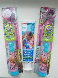 Детская электрическая зубная щетка ЛОЛ LOL  з США