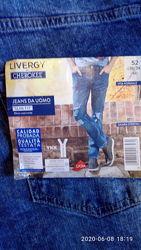 Мужские джинсы Livergy евро 52, удобные, стильные, цена демократичная