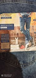 Мужские джинсы Livergy евро 46 31х34, модные, с дырками