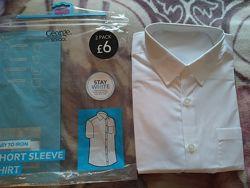 Фирменныя рубашка на парня с коротким рукавом  George, р.14-15 лет.