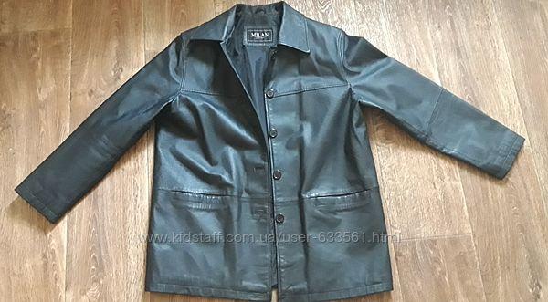 Мужской кожаный кожа PU пиджак.