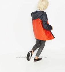 яркая водонепроницаемая куртка ветровка ZARA