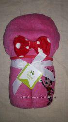 Махровое полотенце с капюшоном Disney Минни маус Оригинал