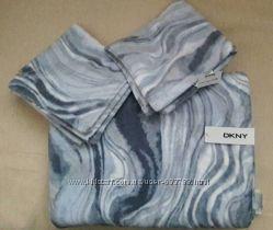 Набор большое махровое велюровое  полотенце DKNY Оригинал