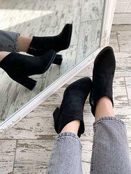 Шикарные замшевые ботиночки