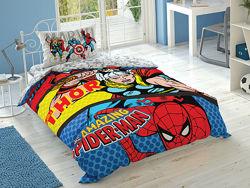 Постільна білизна TAC Disney - Marvel Comics дитяча Марвел, Людина-Павук