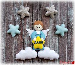 Оберег Ангел-хранитель из фетра