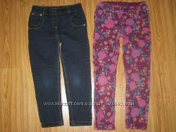 Фирменные джинсы, треггинсы, джеггинсы, шорты, ромпер 4-6 лет. Часть 9.