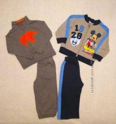 Спортивные костюмы Carter&acutes, Disney на 1, 5-2 года.