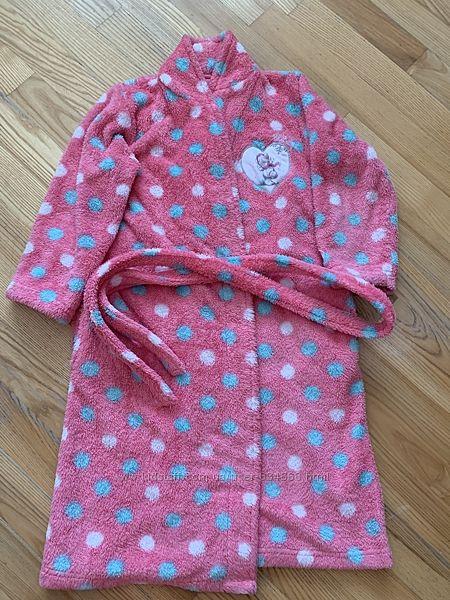 Очень тёплый халатик на девочку 9-10 лет