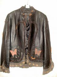Куртка кожа Michaela Fur S