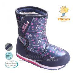 Зимние сапожки дутики Tom M