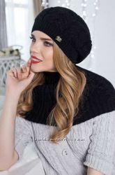 Комплект Идилия Braxton берет и шарф-хомут
