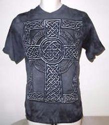 3D футболка The Mountain Celtic Cross - Кельтский крест, размер M