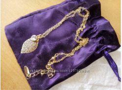 Колье SWAROVSKI, браслеты, набор украшений аметист Ив Роше