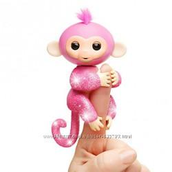 Интерактивная гламурная ручная обезьянка WowWee Fingerlings  Подробнее htt