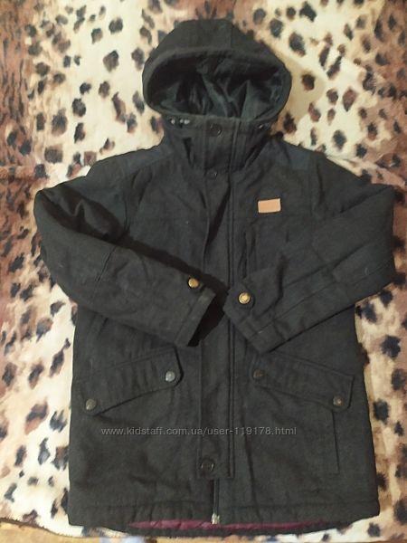 Куртка -пальто Next шерстяное 140 р