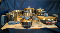 Набор посуды Lagostina 7 предметов 4 крышки