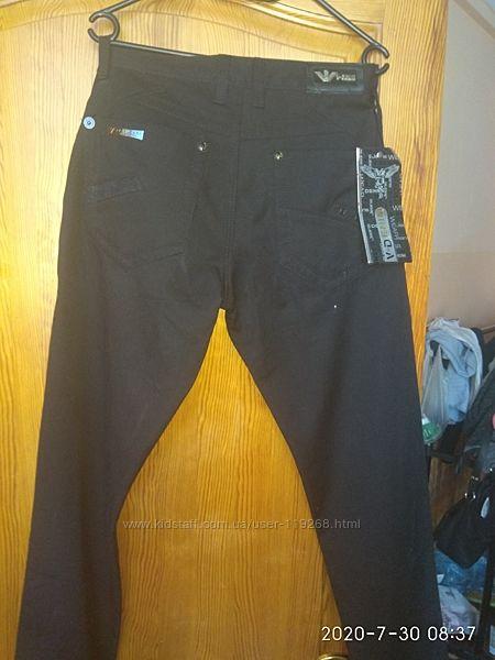 джинсы на флисе  30 размер