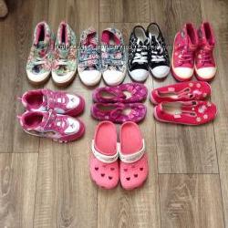 Обувь моей доченьки в отличном состоянии