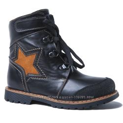 Разные зимние и деми кожаные ботинки 26-31 размера