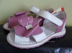 Кожаные босоножки и летние туфельки Берегиня большой выбор наличие 20-25 р