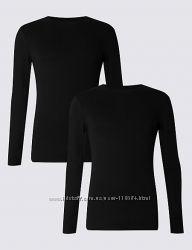 Спортивная черная футболка длинный рукав Danskin США хлопок