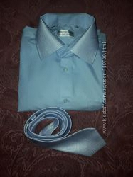 красивая рубашка, одета 1 раз на торжество