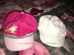 Фирменные кепки на объем головы 52-53