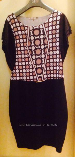 Шикарное дизайнерское платье Wagon Paris, оригинал, с серийным номером