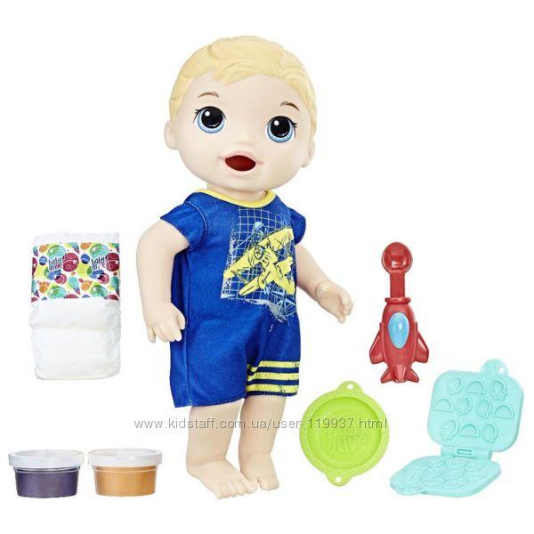 Кукла Baby Alive вместе с едой Мальчик Люк