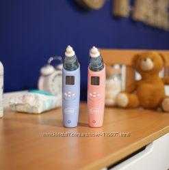 Детский электрический назальный аспиратор CliEE  12 месяцев гарантии