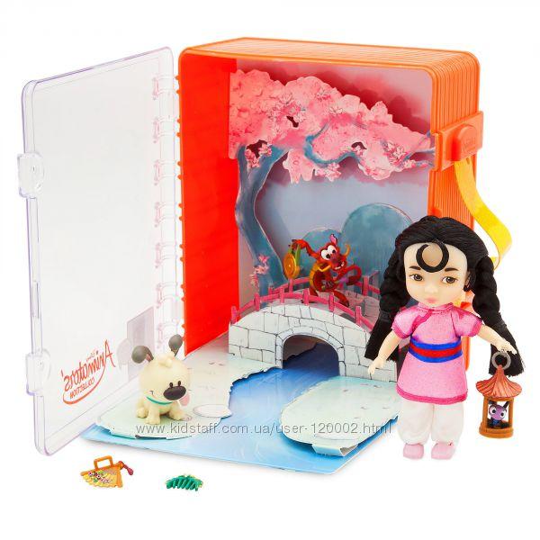 Подарочный набор принцесса Мулан в чемоданчике Дисней Disney Animators, США