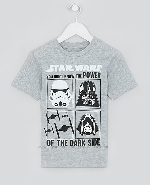 Крутая футболка Kids Star Wars от Matalan США